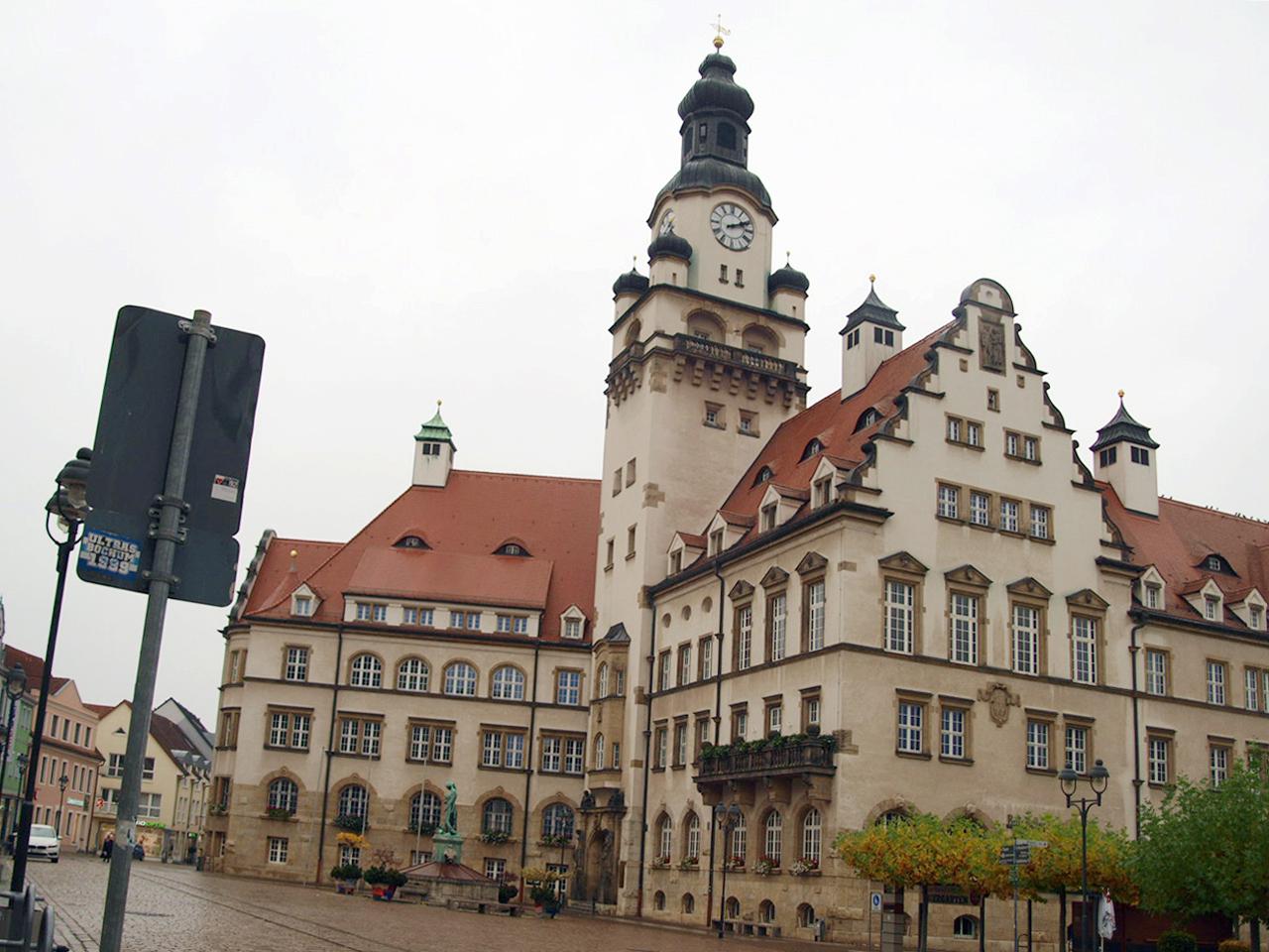 Döbeln Stadtrundgang Treibhaus